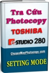 Setting Mode Photocopy Toshiba e-Studio 280 / E280