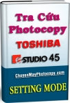 Setting Mode Photocopy Toshiba e-Studio 45 / E45