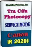 Service Mode Photocopy Canon iR 2020J - Tiếng Việt