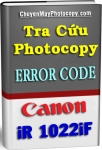 Error Code Photocopy Canon iR 1022iF - Tiếng Việt