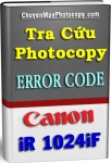 Error Code Photocopy Canon iR 1024iF - Tiếng Việt