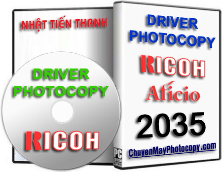 Download Driver Photocopy Ricoh Aficio 2035