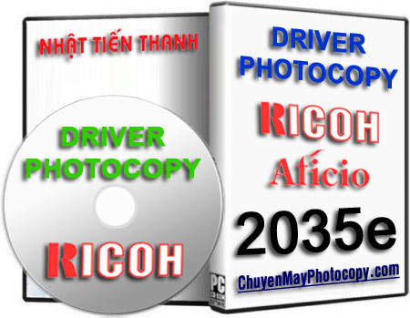 Download Driver Photocopy Ricoh Aficio 2035e