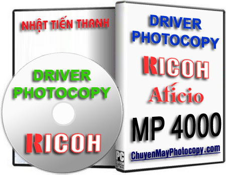 Download Driver Photocopy Ricoh Aficio MP 4000 / 4000B