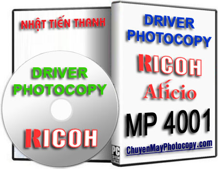 Download Driver Photocopy Ricoh Aficio MP 4001