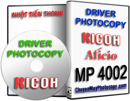 Download Driver Photocopy Ricoh Aficio MP 4002 / 4002SP