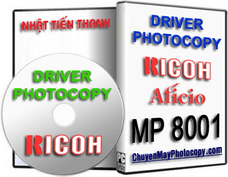 Download Driver Photocopy Ricoh Aficio MP 8001